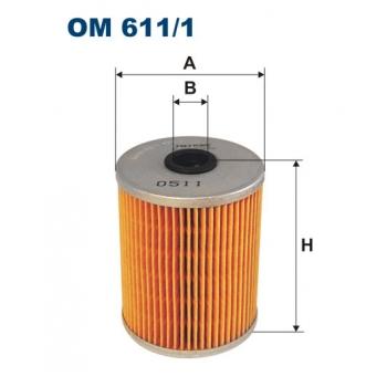 Filtron OM 611/1 - olejovy filtr