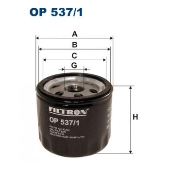 Filtron OP 537/1 - olejovy filtr