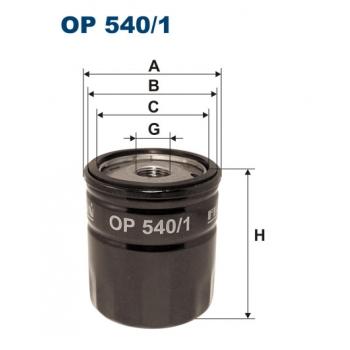 Filtron OP 540/1 - olejovy filtr
