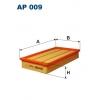 Filtron AP 009 - vzduchovy filtr