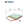 Filtron AP 025/1 - vzduchovy filtr