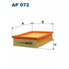 Filtron AP 072 - vzduchovy filtr