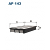 Filtron AP 143 - vzduchovy filtr