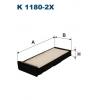 Filtron K 1180-2X - kabinovy filtr