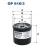 Filtron OP 616/3 - olejový filtr