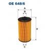 Filtron OE 648/6 - olejovy filtr