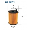 Filtron OE 667/1 - olejovy filtr