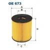 Filtron OE 673 - olejovy filtr