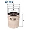 Filtron OP 570 - olejovy filtr