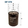 Filtron OP 578 - olejovy filtr