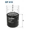 Filtron OP 616 - olejovy filtr