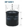 Filtron OP 629/1 - olejovy filtr