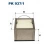 Filtron PK 937/1  - palivovy filtr