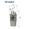 Filtron PP 838/3  - palivovy filtr