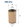 Filtron PW 813  - palivovy filtr